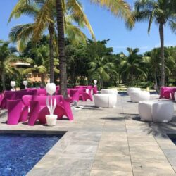 Barcelo Maya Tropical Poolside Wedding