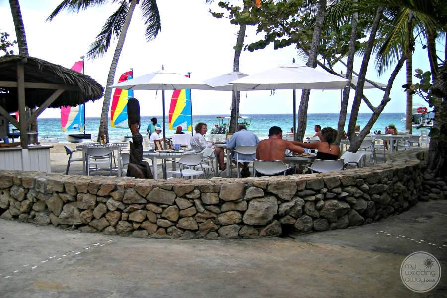 Couples Swept Away Beach Dining