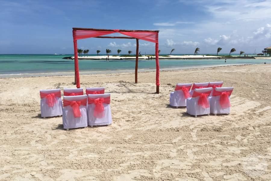 El Dorado Maroma Beach Wedding Ceremony