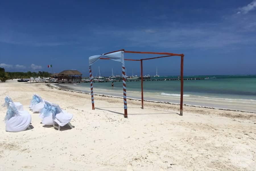 El Dorado Maroma Beach Wedding
