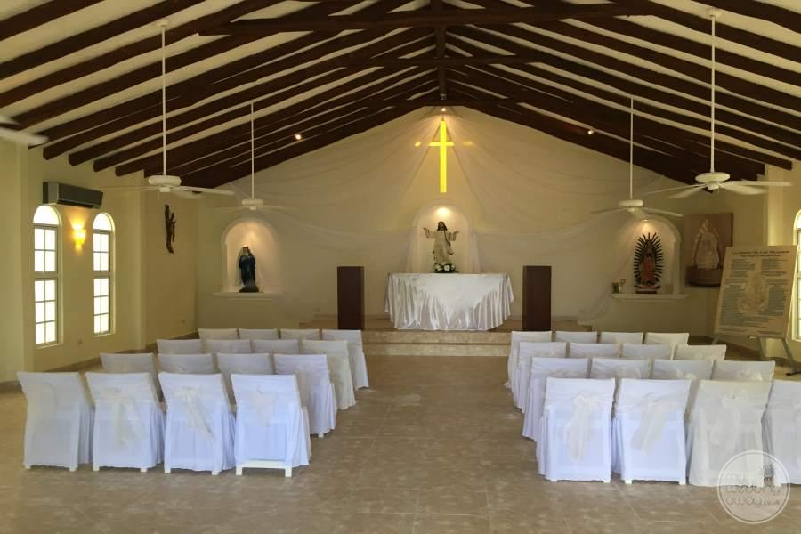 El Dorado Maroma Chapel Wedding