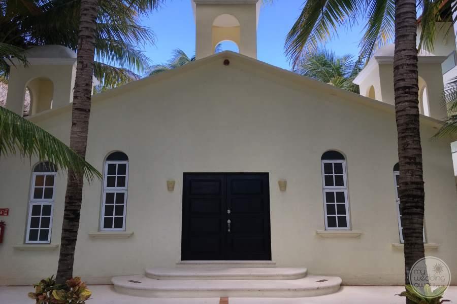 El Dorado Maroma Chapel