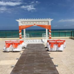 El Dorado Maroma Terrace Wedding