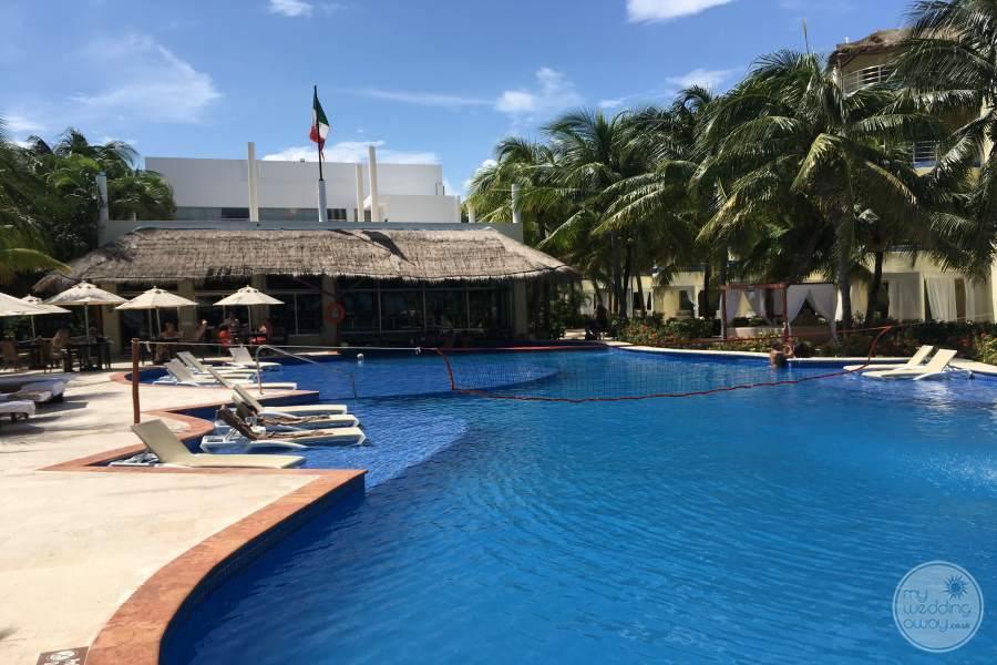 El Dorado Maroma Pool Area