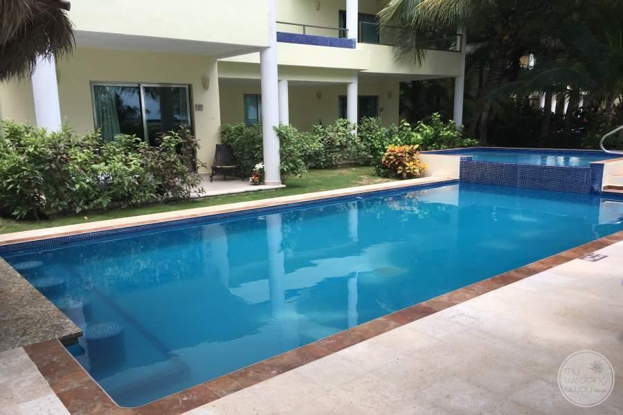 El Dorado Maroma Private Pool Area