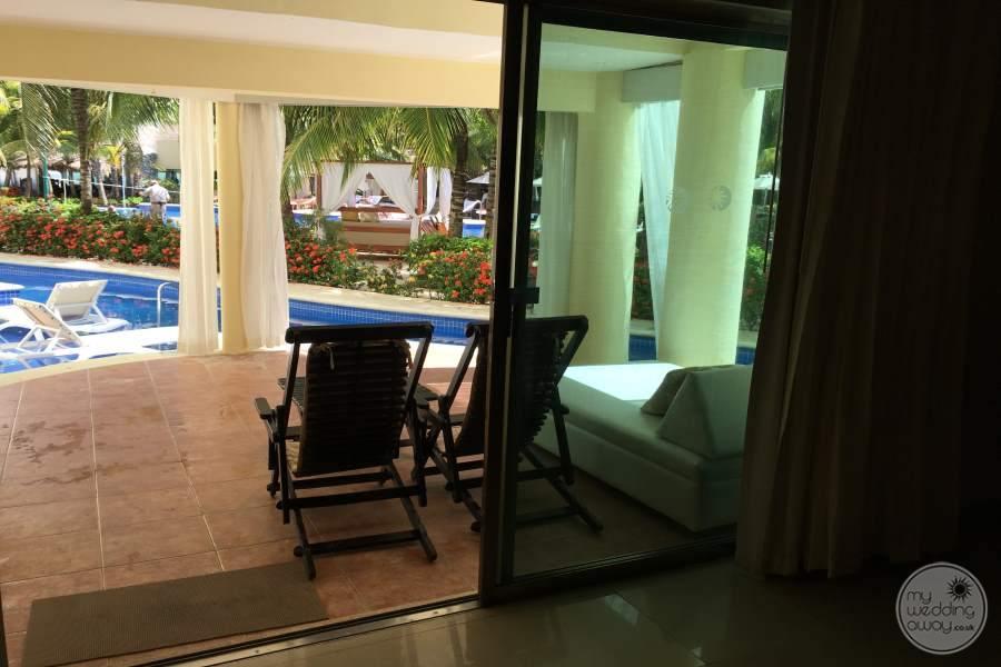 El Dorado Maroma Room Covered Balcony