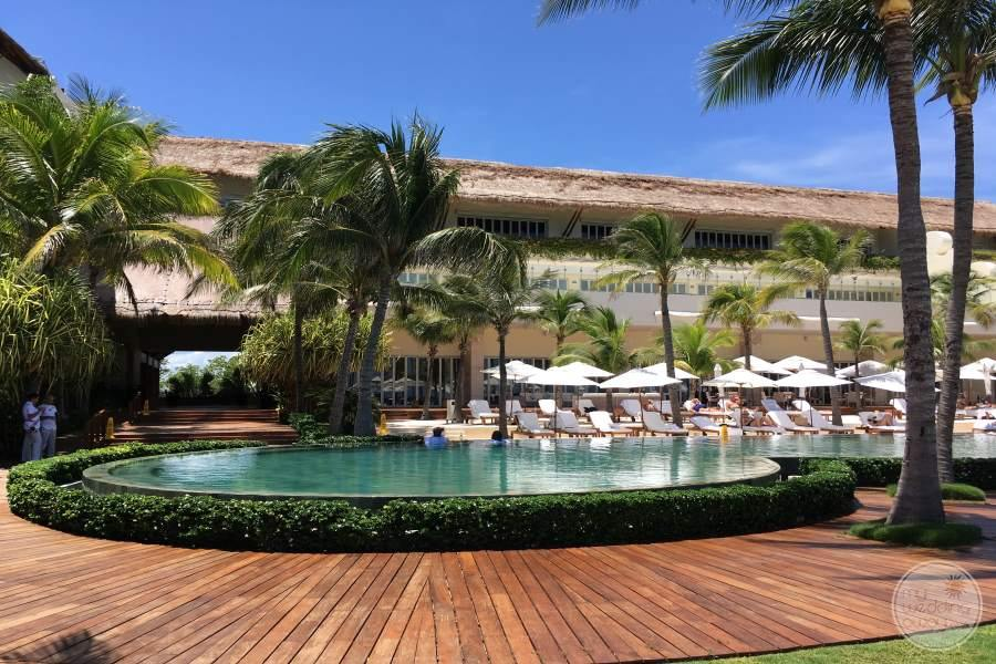 Grand Velas Riviera Maya Pool Area