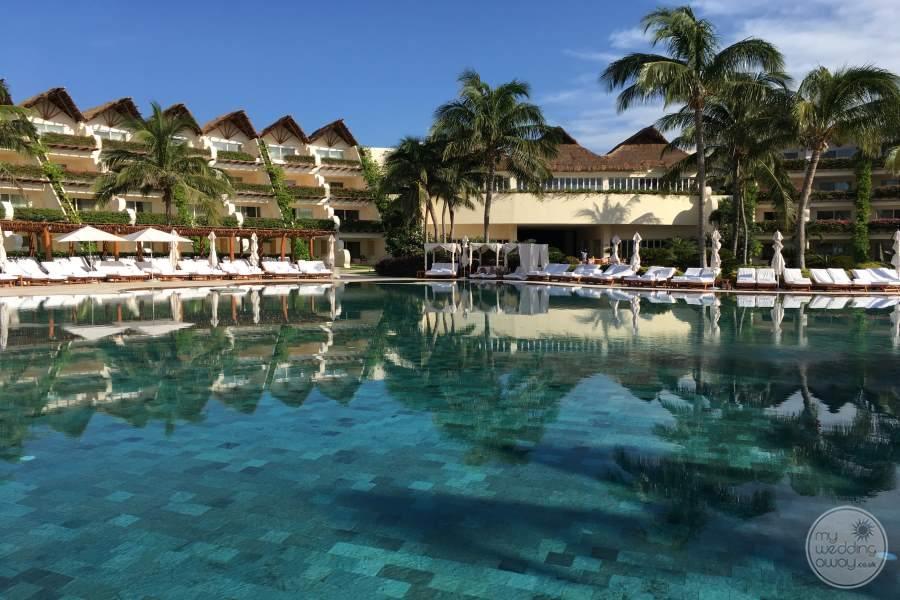 Grand Velas Riviera Maya Pools and Rooms