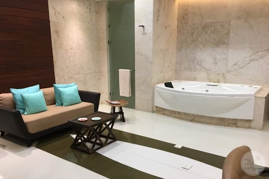 Grand Velas Riviera Maya Jetted Tub