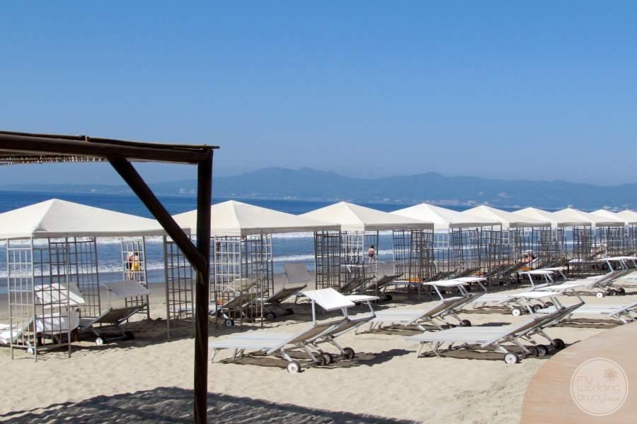 Grand Velas Riviera Nayarit Beach Loungers