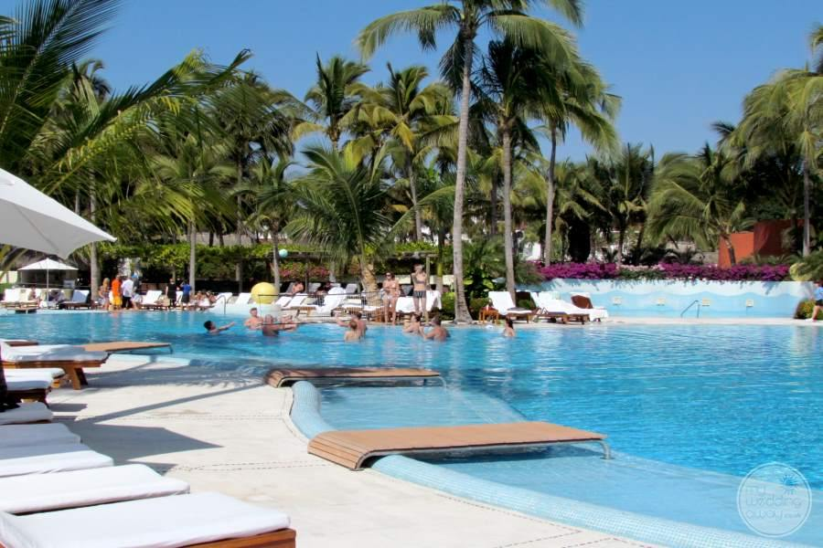 Grand Velas Riviera Nayarit Pool Loungers