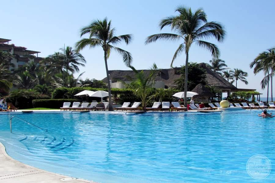 Grand Velas Riviera Nayarit Pool and Lounge Chairs