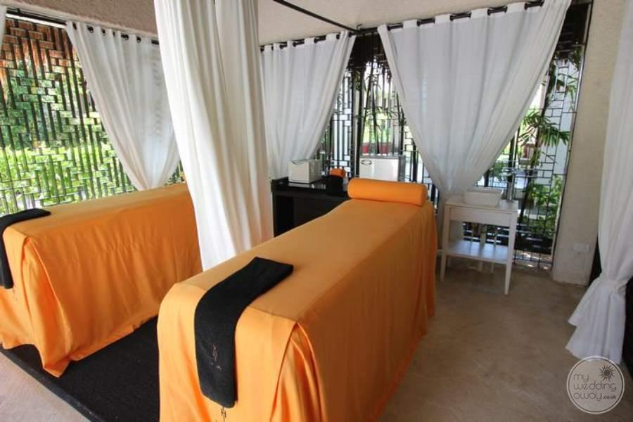 Paradisus La Perla Spa Treatment Beds