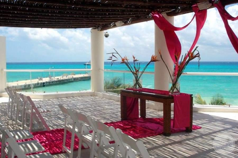 Playacar Palace Oceanview Wedding
