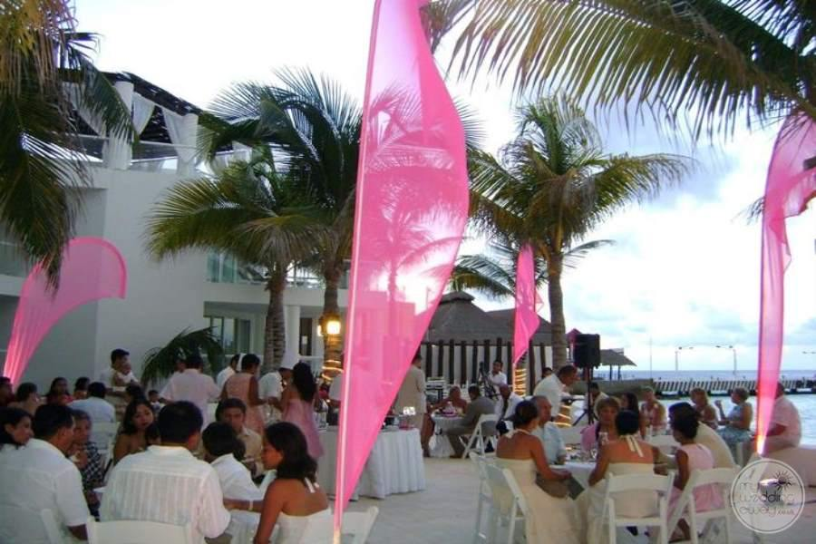 Playacar Palace Reception on Momo Terrace