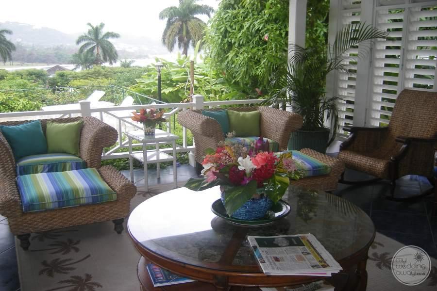 Round Hill Hotel Villas Balcony