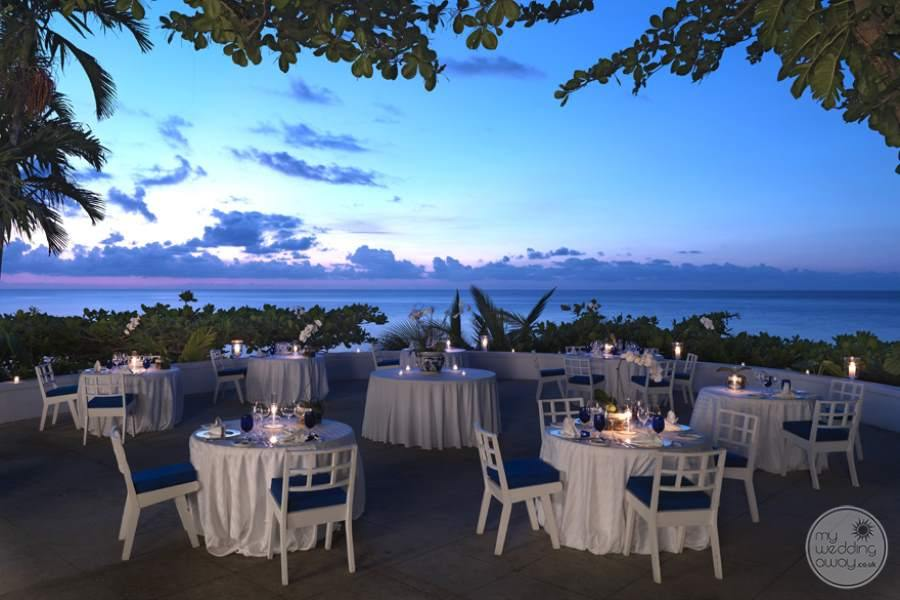 Round Hill Hotel Villas Wedding Dining