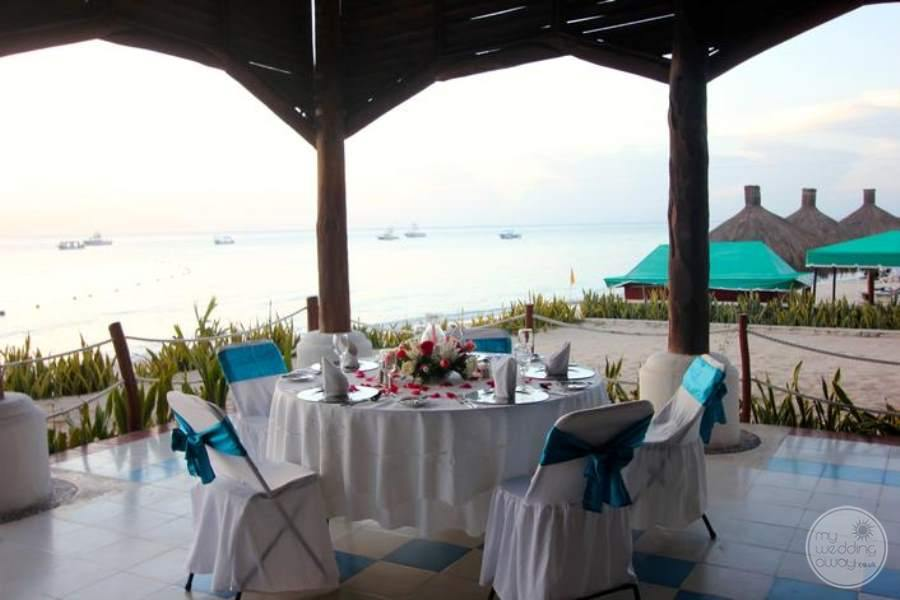 Royal Hideaway Beach Reception