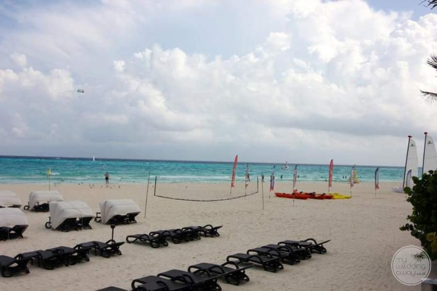 Royal Hideaway Beach Volleyball