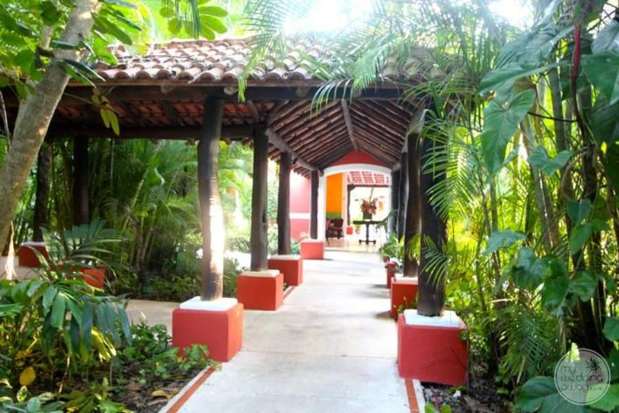 Royal Hideaway Covered Walkway