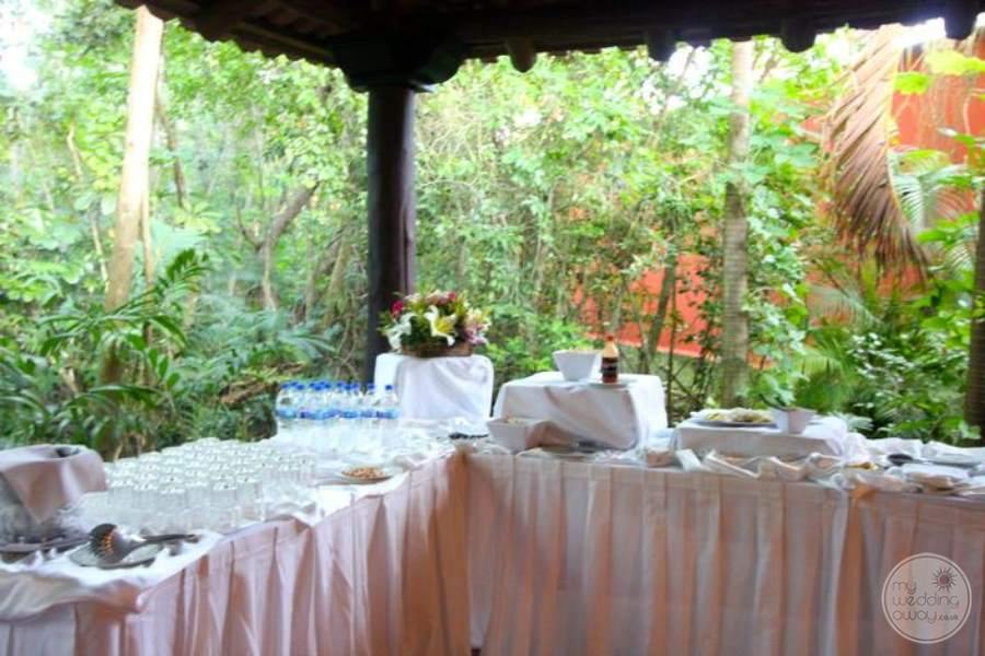 Royal Hideaway Reception Buffet