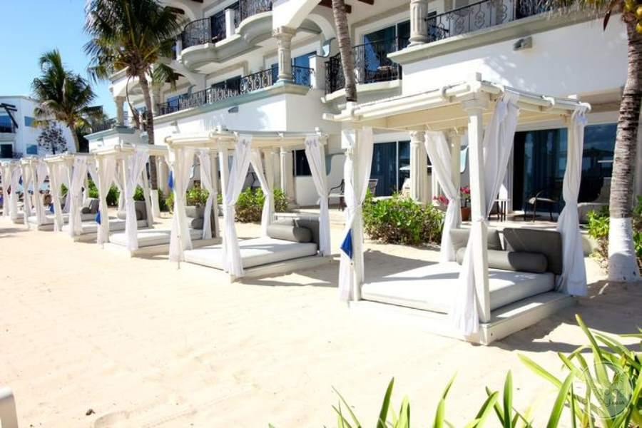 Royal Playa del Carmen Beach Beds