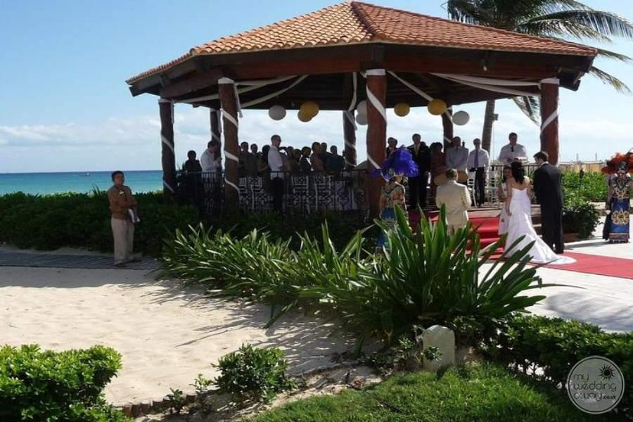 Royal Playa del Carmen Beach Wedding