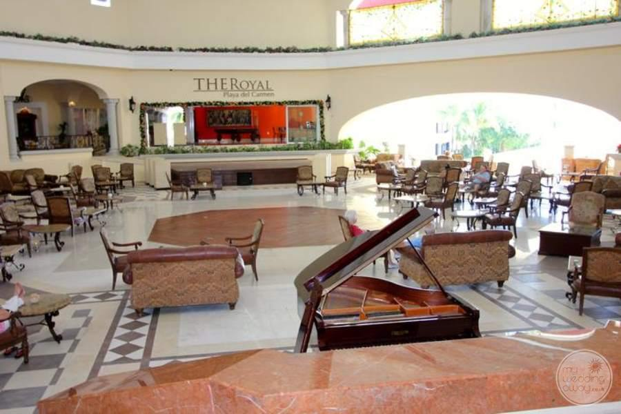 Royal Playa del Carmen Lobby Area