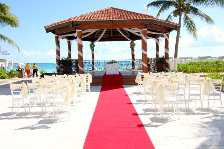 Royal Playa del Carmen Wedding Gazebo