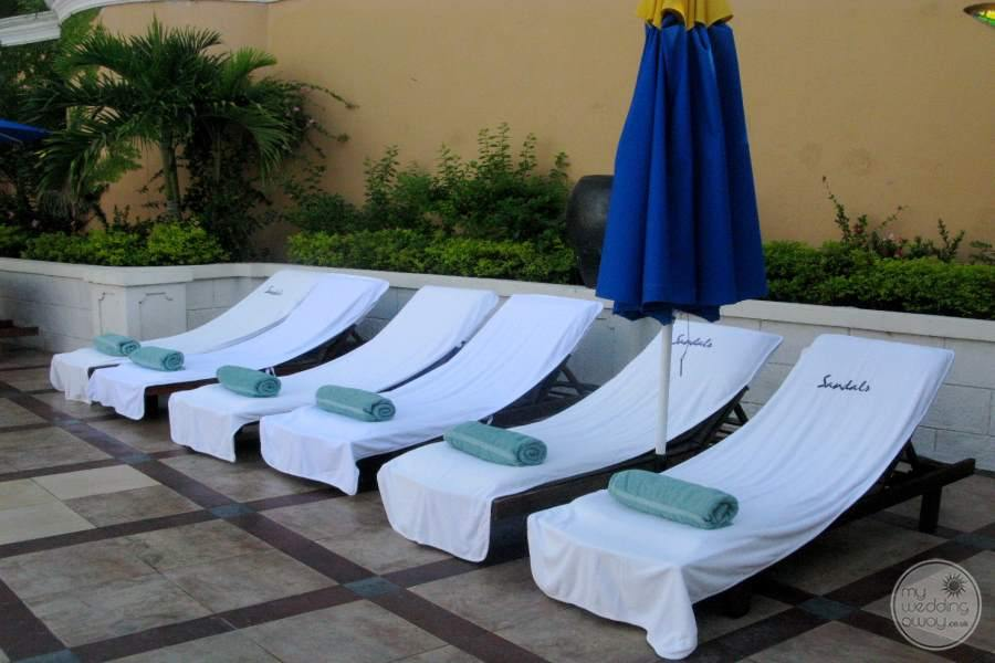 Sandals Negril Lounge Chairs