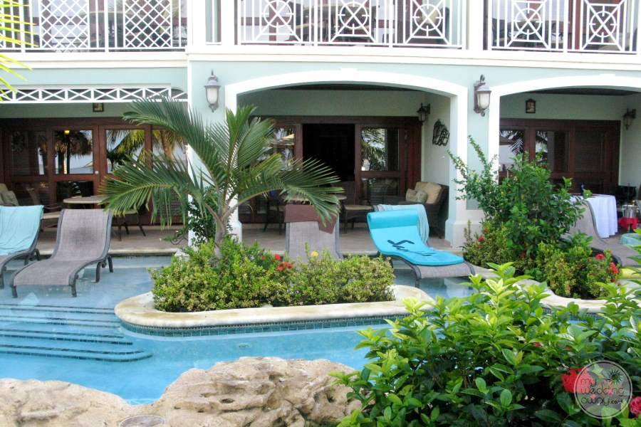 Sandals Negril Swim out Rooms