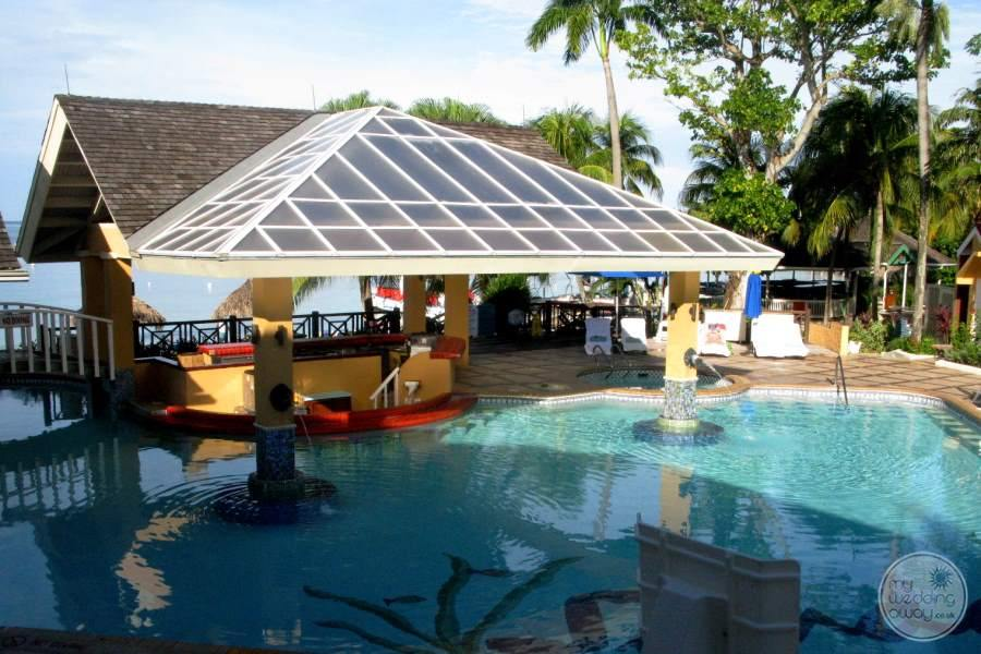 Sandals Negril To Swim up Bar
