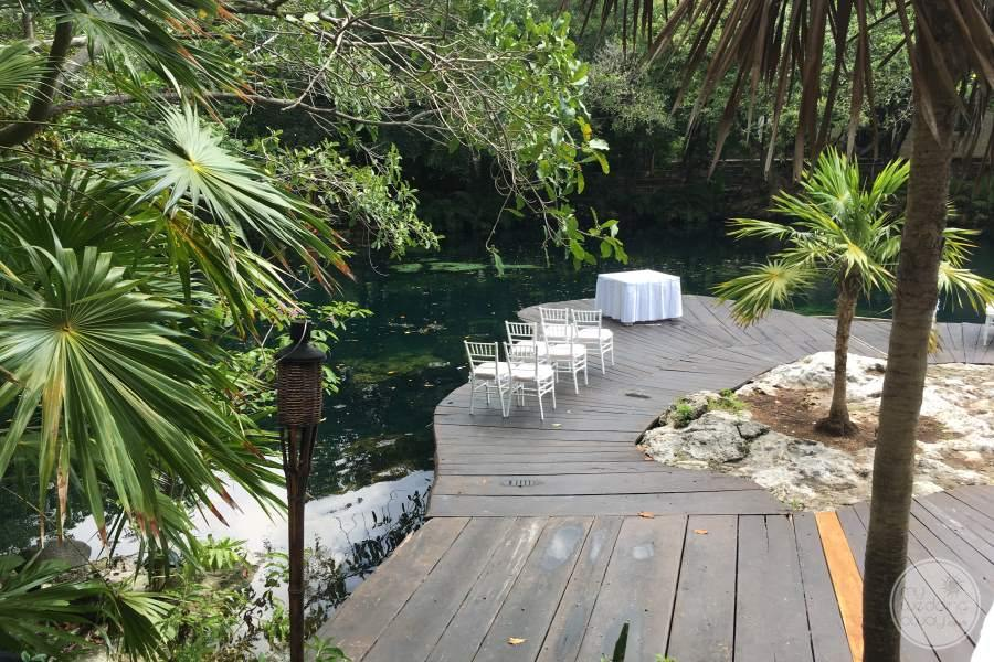 Sandos Caracol Garden Wedding