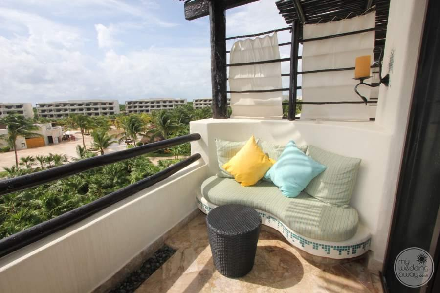 Secrets Maroma Balcony Seating