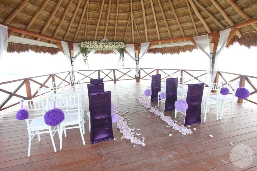 Secrets Maroma Gazebo Wedding