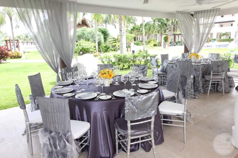 Secrets Maroma Beach Wedding Reception
