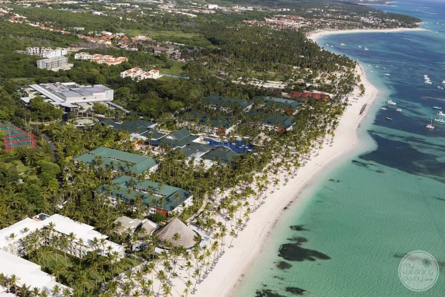 Barcelo Bavaro Beach Aerial View