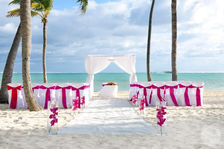 Barcelo Bavaro Palace Deluxe Beach Wedding Gazebo