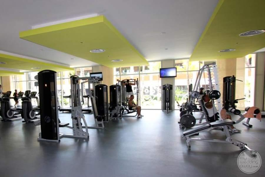 Barcelo Bavaro Palace Deluxe Fitness Center