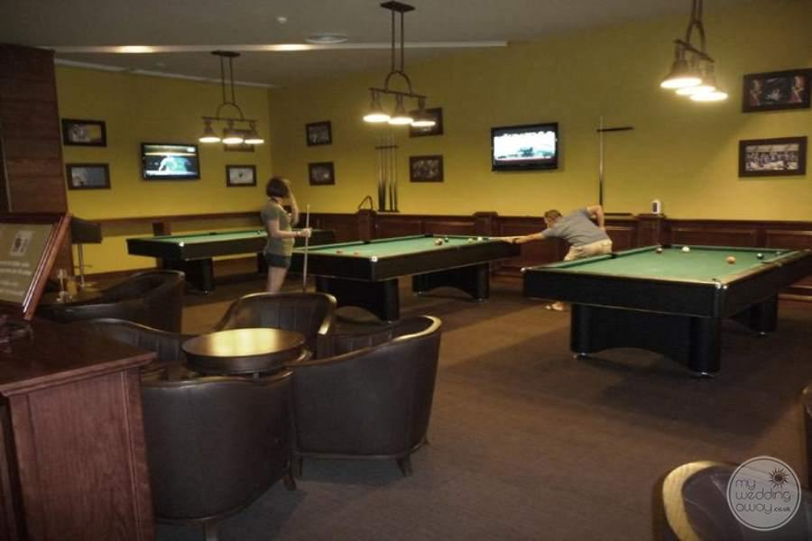 Barcelo Bavaro Palace Deluxe Games Room
