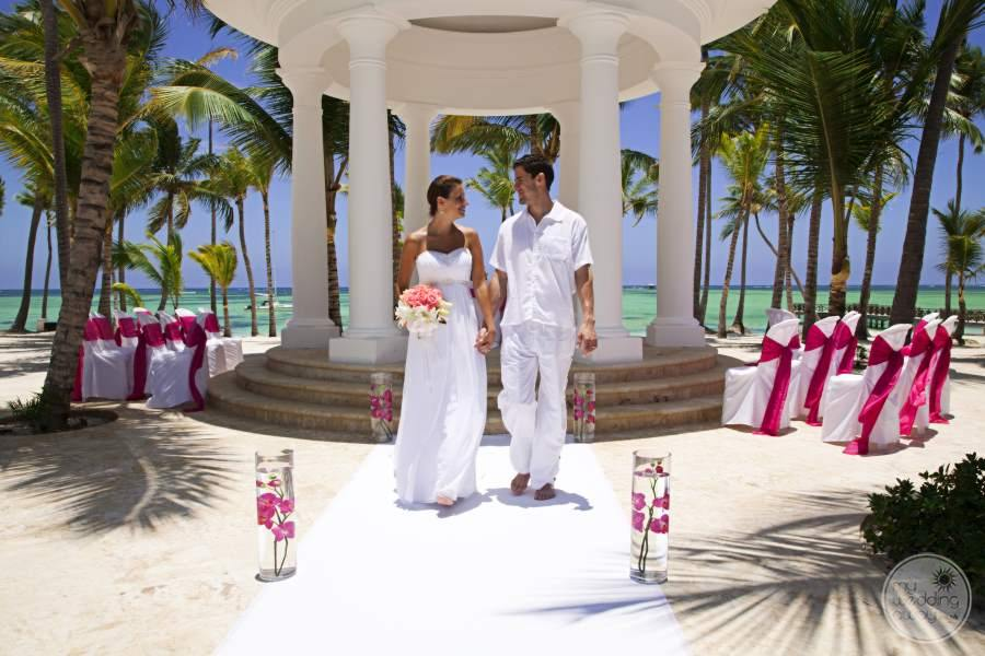 Barcelo Bavaro Palace Deluxe Gazebo Wedding