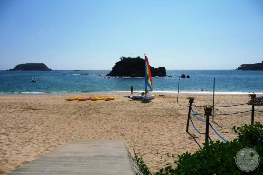 Barcelo Huatulco Beach View