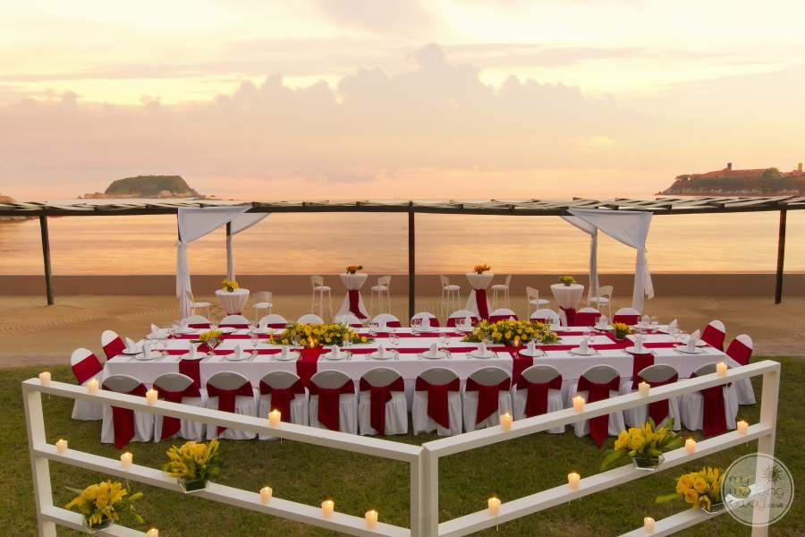 Barcelo Huatulco Beach Wedding Ceremony