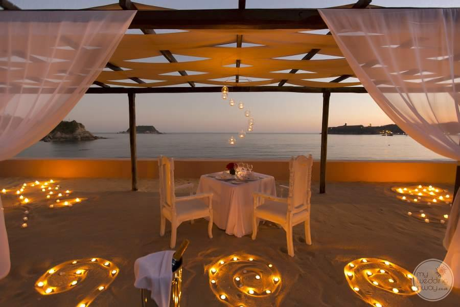 Barcelo Huatulco Evening Wedding
