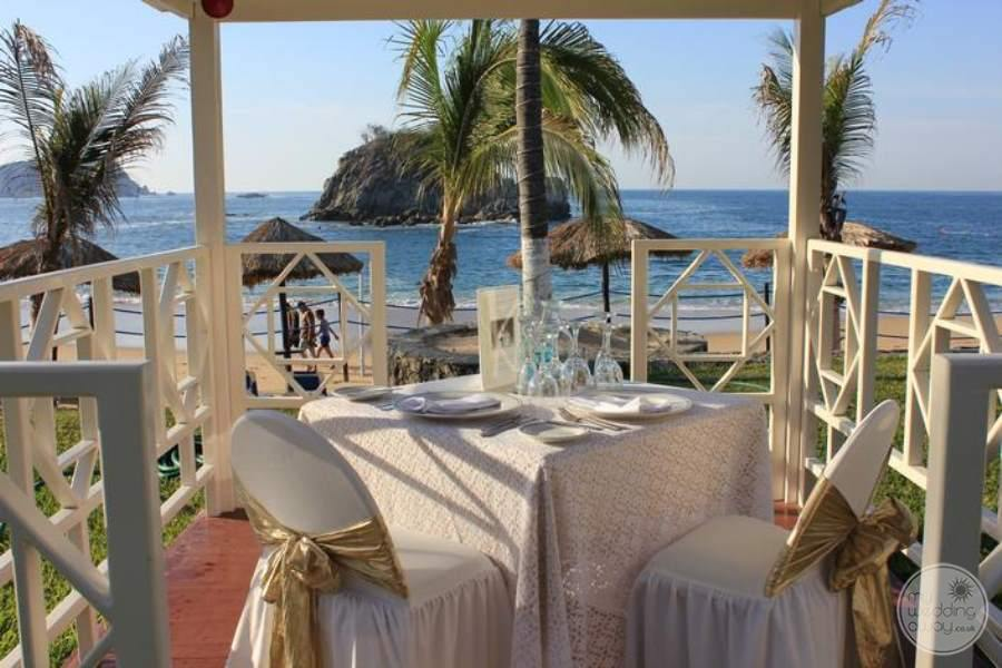 Barcelo Huatulco Intimate Wedding Reception