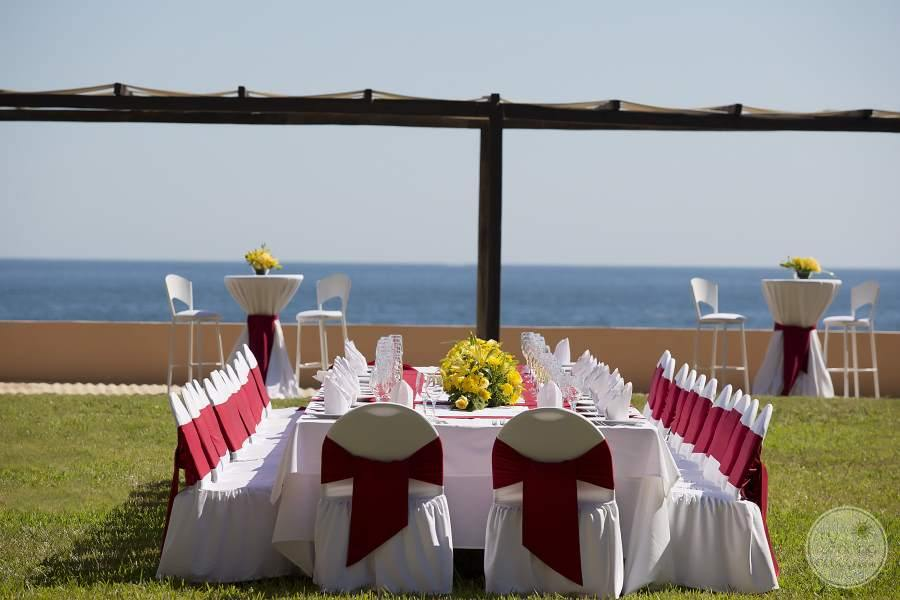 Barcelo Huatulco Ocean View Wedding Reception