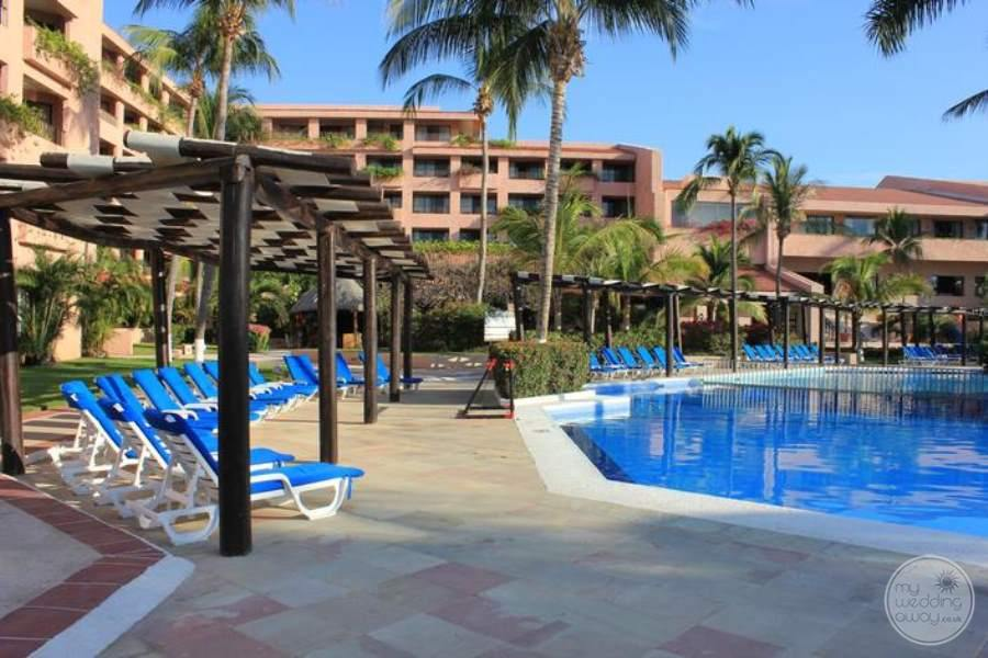 Barcelo Huatulco Pool and Loungers