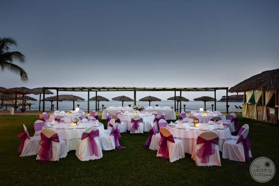 Barcelo Huatulco Wedding Reception 2