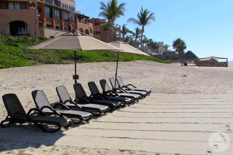 Casa del Mar Beach Loungers