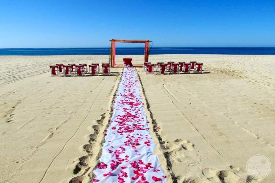 Casa del Mar Beach Wedding